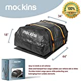 Mockins Waterproof Cargo Roof Bag Set with A Protective Car...