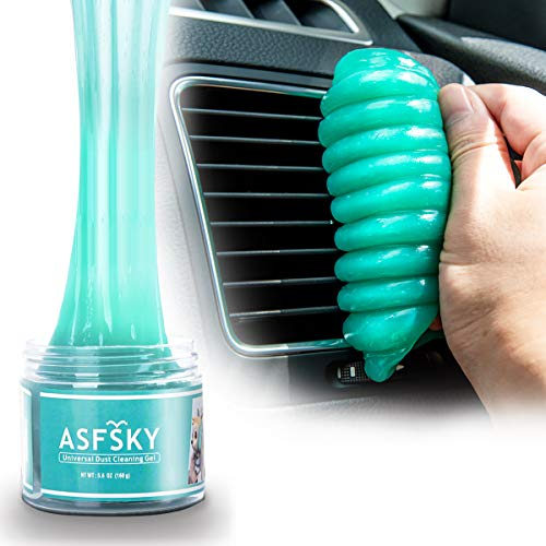 Keyboard Cleaning Gel Car Cleaning Gel Car Cleaner Gel Detailing Putty Auto Dust Cleaning Tool for PC Tablet Laptop,Car Vents,Car Interiors,Home,Printers,Electronics Remove Dust,Pet Hair