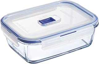 Luminarc Pure Box 9207678 Active Storage Box with Lid / Glass / 197 cl Transparent
