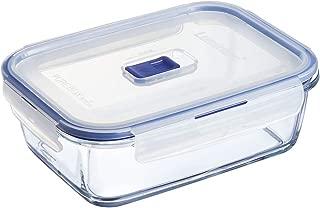 Luminarc Pure Box Active - Recipiente hermético de Vidrio,