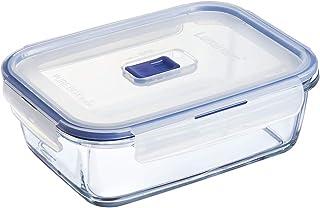 Luminarc Pure Box Active Boîte de Conservation hermétique en verre, rectangulaire, 1,97 L