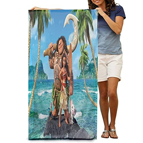 Moana Vaiana Princesses, toalla de playa de secado rápido, toalla de playa súper suave para hombre y mujer