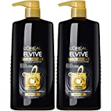 L'Oreal Paris Elvive Total Repair 5 Repairing Shampoo and Conditioner for Damaged Hair, Shampoo and Conditioner Set with Protein and Ceramide, 1 kit