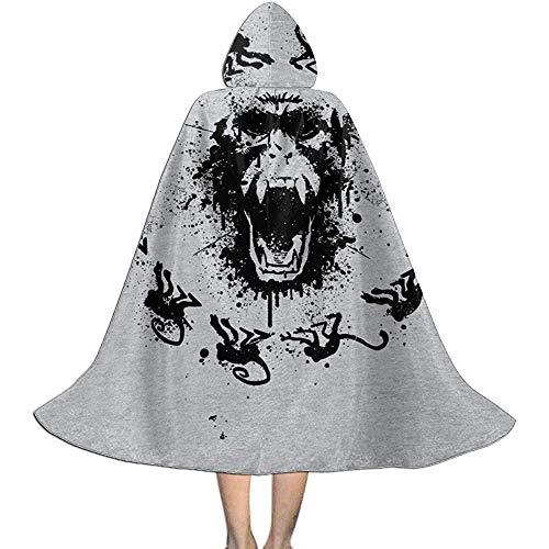 Niet van toepassing volwassen mantel mantel, unisex cosplay rol kostuums, capuchon mantel, aap koorts 12 apen vampier mantel, wizard mantel, halloween partij decoratie bovenkleding
