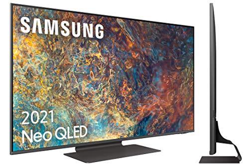 Samsung Neo QLED 4K 2021 50QN90A - Smart TV de 50  con Resolución 4K UHD, Quantum Matrix Technology, Procesador Neo QLED 4K con Inteligencia Artificial, Quantum HDR 2000, OTS+ y Alexa Integrada
