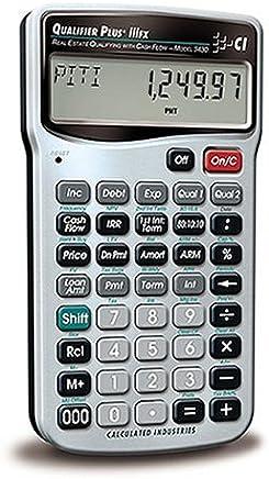 $40 » Calculated Industries 3430 Qualifier Plus IIIFX Real Estate Finance Calculator (Renewed)