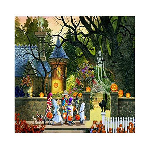 N / A 1000 Piece Halloween Jigsaw Puzzle,Large Adult Childrens Educational Pattern Toy (ArtKari-17)