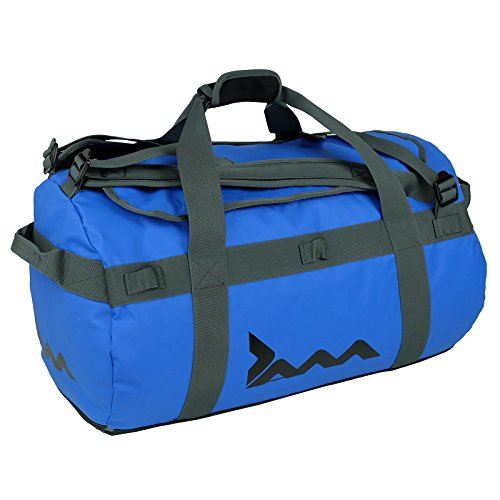 JAM Men's Blue 85 Litre Cargo Duffle Bag Waterproof Holdall Sports Gym Travel Luggage, Neutral, one Size