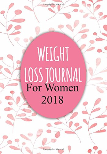 Weight Loss Journal For Women 2018: Food & Exercise Journal