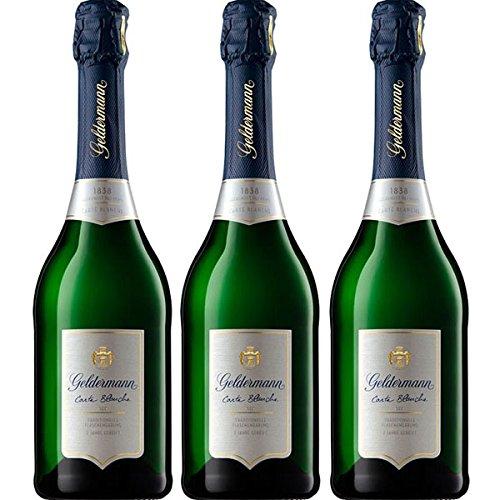 Geldermann Carte Blanche Sekt 2 Jahre gereift 3 Flaschen a 0,75 L