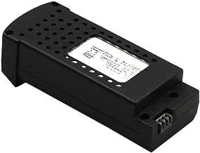 htfrgeds 1 Cable + 3 x 37V 1600mAh Batería para SG106 WiFi FPV RC Quadcopter Drone Battery, baterías alcalinas E-Block