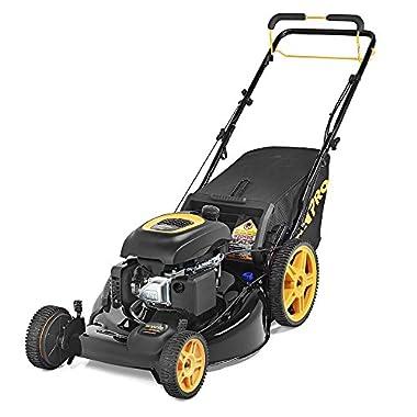 Poulan Pro PR174Y22RHP Gas 3-N-1 Fwd. Lawnmower Walk Behind Lawnmower,