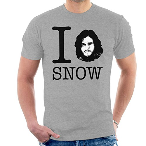 I Love Jon Snow Game of Thrones T-shirt voor heren