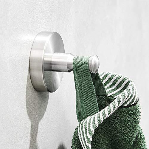 1 pz Gancio a parete in acciaio inossidabile, per bagno Appendiabiti da cucina Appendiabiti per doccia Cerchio Cerchio Appendiabiti da bagno, G