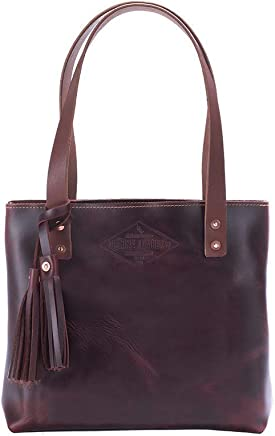 e1859a9dcfdd Small Brown Leather Tote Bag For Women, Small Leather Bag, Leather Handbag,  Gift