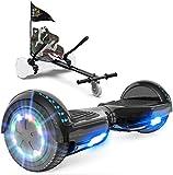 GeekMe Hoverboard mit Sitz, Elektroroller Hoverkart,...
