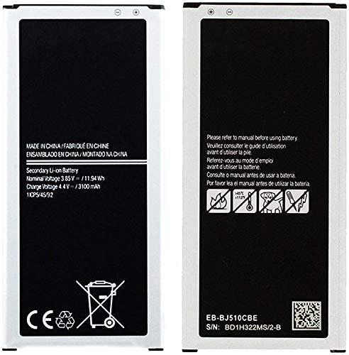 Ellenne Batería compatible con Samsung J5 2016 J510 EB-BJ510CBC de alta capacidad 3100 mAh con kit de desmontaje incluido