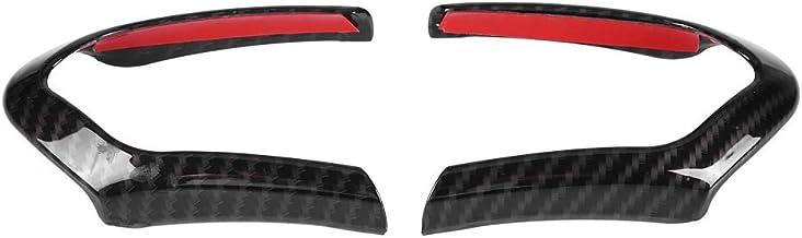 KSTE 2ST Lenkradbezug Trim Rahmen for BMW F20 F22 F30 F32 F10 F06 F15 F16 Carbon Fiber