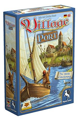 Pegasus Spiele 54513G - Village Port (Erweiterung) (eggertspiele)