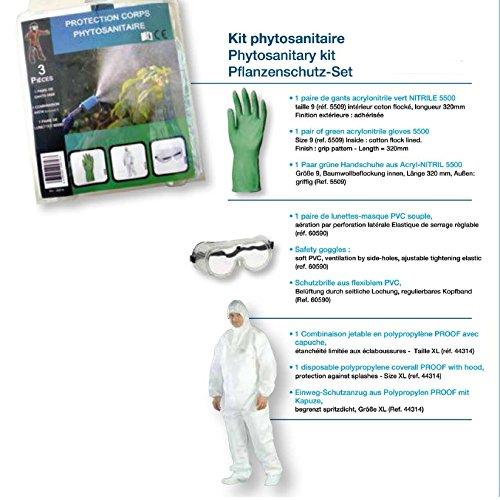 Kit phytosanitaire de protection pour les traitements du jardin