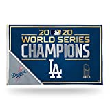 "Rico 2020 Los Angeles ""LA"" Dodgers World Champions Banner Flag - 3' x 5'"