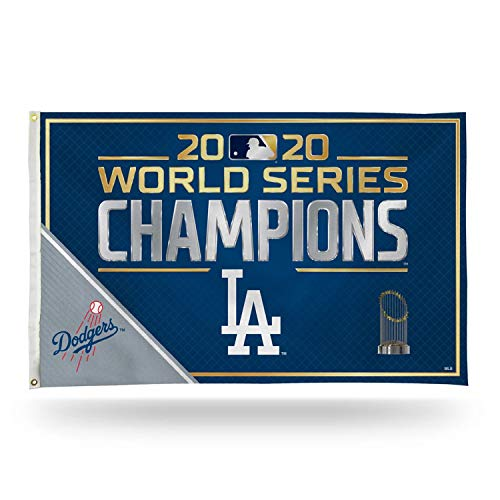 "Rico 2020 Los Angeles ""LA"" Dodgers World Champions Banner Flag - 3"