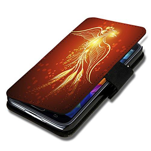 wicostar Book Style Flip Handy Tasche Hülle Schutz Hülle Schale Motiv Foto Etui für Wiko Ridge Fab 4G - Flip A51 Design10