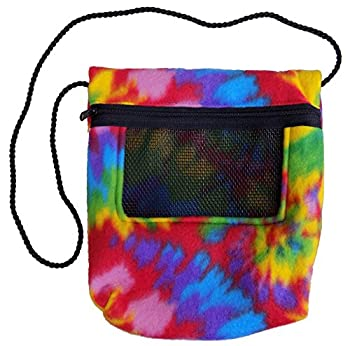 Bonding Carry Pouch  Tie Dye  for Sugar Gliders and Small Pets