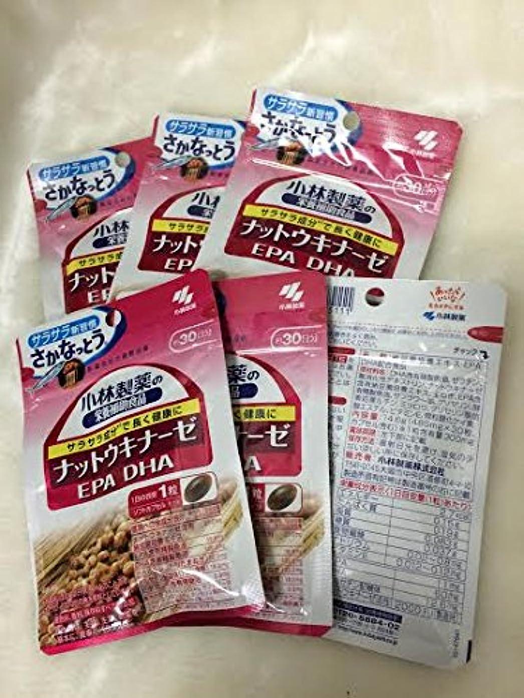 パリティシリンダー認可小林製薬の栄養補助食品 ナットウキナーゼ?DHA?EPA 30粒(約30日分) 6セット