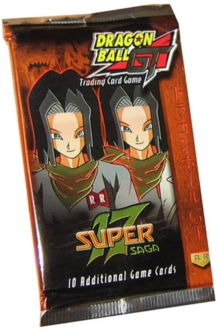 Dragonball GT Score Trading Card Game Super 17 Saga Booster Pack [10 Cards]