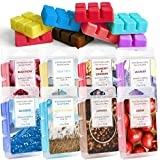DERDUFT Scented Wax Melts Gift Set, Soy Wax Cubes for Wax Warmer, Scented Natural Wax Melts Wax Cubes for Birthday, Mother's Day, Anniversary, 8×2.5oz