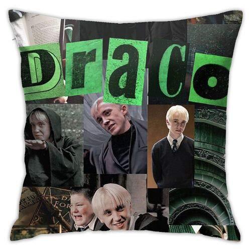 Dr-aco-M-al-foy Throw Pillow Funny Pillowcase Draco-Malfoy Funny Gag Gifts Xmas Birthday Gift 445 * 45 (Colour6)