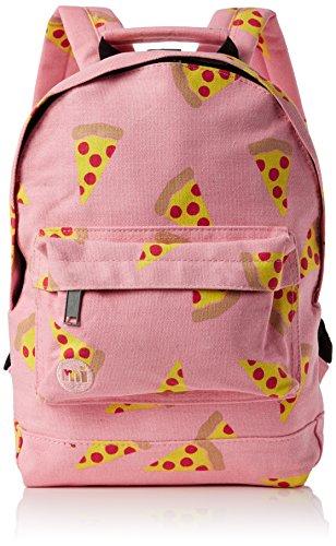 Mi-Pac Mini Backpack Print Mochila Tipo Casual, 33 cm, 10.5 litros, Pizza Pink
