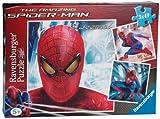 Ravensburger - 09327 - Puzzle Classique - Spiderman en Action - 3X49 Pièces
