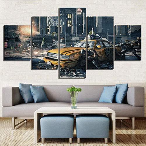 New 5-Piece Canvas Wall Art Wall Artist Home Decorative