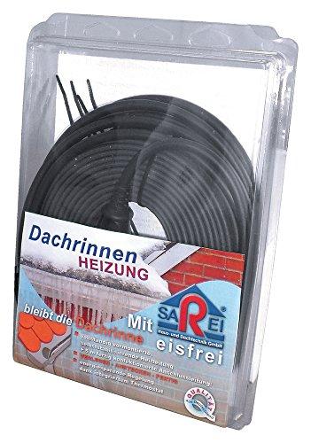 SAREI Haus- und Dachtechnik SHDT - Calefactor para evitar que los canalones se hielen (25 m)