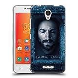 Head Case Designs Oficial HBO Game of Thrones Daario Naharis Caras 2 Carcasa de Gel de Silicona Compatible con Lenovo A Plus