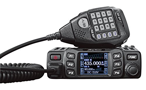 AnyTone AT-778UV Dual Band Transceiver Mobile Radio VHF/Uhf Mobile Ham Radio for Car Vehicle