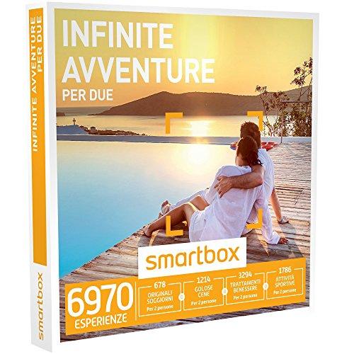 smartbox - Cofanetto Regalo - Infinite Avventure per Due - 6970 esperienze tra soggiorni, attività Sportive, di Gusto o Benessere