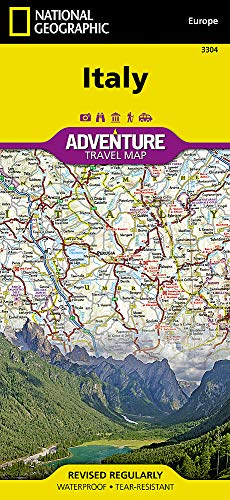 Italy (National Geographic Adventure Map, 3304)