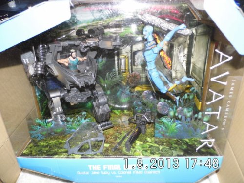 Mattel James Camerons Avatar Movie SDCC 2010 San Diego Comic Con Exclusive Playset Final Battle...