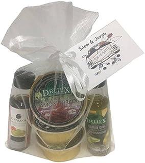 Lote botellita de Aceite de Oliva y Vinagre de Jerez con 3