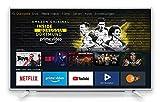 Grundig Vision 6 - Fire TV Edition (40 GFW 6060) 101 cm (40 Zoll) Fernseher (Full HD, Alexa-Sprachsteuerung, Magic Fidelity) weiß [Modelljahr 2019]
