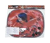 ARDITEX LB11876 Set de 2 Parasoles Coche Viseras Col con Lamina de Lady Bug