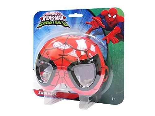 Marvel Spiderman 551305sp5–Natación máscara