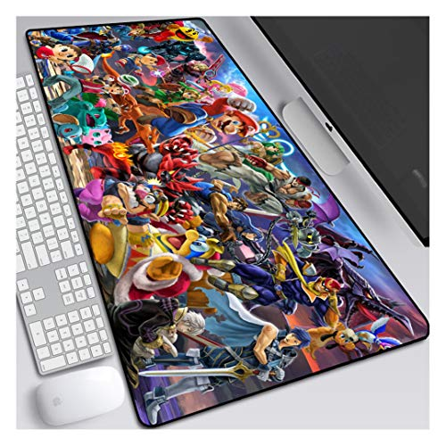 Alfombrilla de ratón para Juegos Star Brawl-B,Alfombrilla de ratón Grande para Gamer Ordenador,cojín de Escritorio de Oficina,Almohadilla de Teclado 900x400x3mm