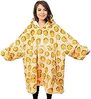 Oversized Hoodie Deken Sweatshirt, Superzacht Warm Comfortabel Ultra Pluche Hooded Deken Robe Gigantische Trui met...
