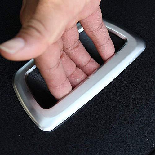 Garniture de Garniture de Coffre de Coffre arrière ABS Platic pour série 2, série F45 F46 218i 2015-2017, Argent Mat