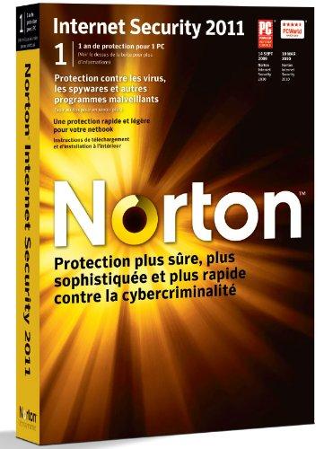 Norton internet security 2011 (1 poste, 1 an)