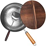 Best Carbon Steel Woks - EDGING CASTING Traditional Chemical Free Carbon Steel Wok Review